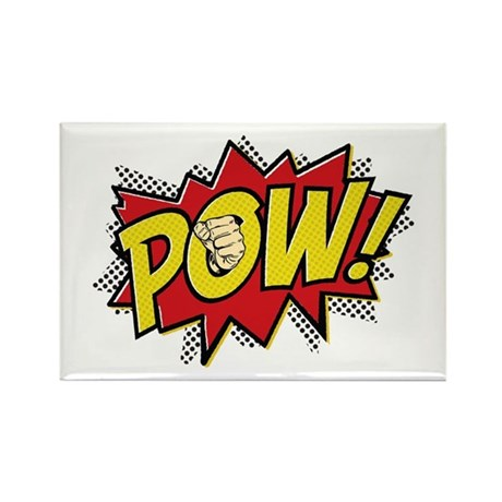 Pow! 2 Rectangle Magnet