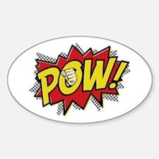 Pow! 2 Sticker (Oval)