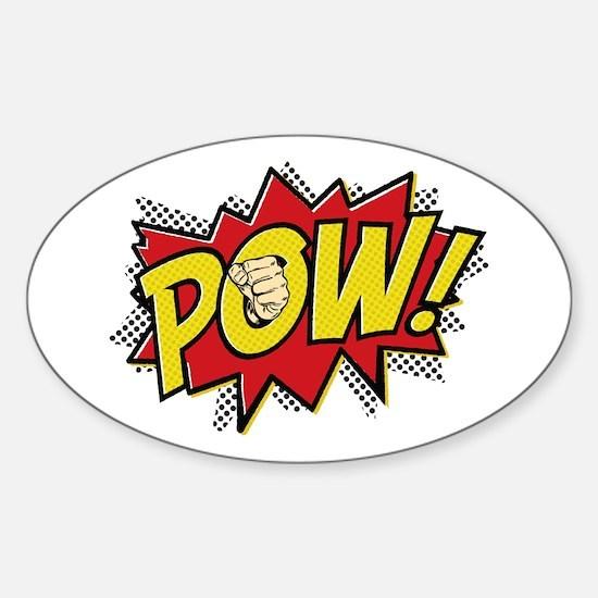 Pow! 2 Sticker (Oval)