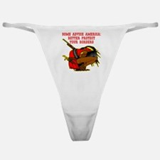 Better Protect Your Borders Classic Thong