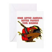 Better Protect Your Borders Greeting Cards (Pk of