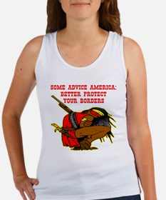 Better Protect Your Borders Women's Tank Top