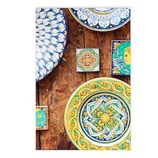 Deruta Postcards (Package of 8)