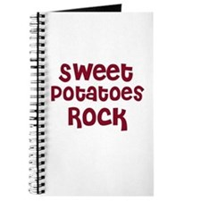 Sweet Potatoes Rock Journal