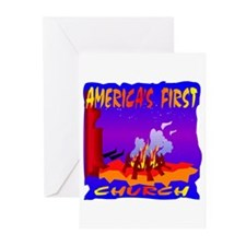 America's First Church Greeting Cards (Pk of 20)