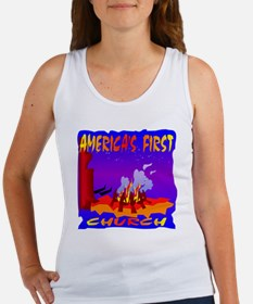 America's First Church Women's Tank Top