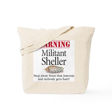 Militant Sheller Tote or Beach Bag