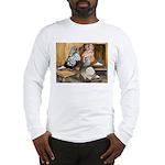 Domestic Flight Pigeons Long Sleeve T-Shirt