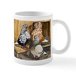 Domestic Flight Pigeons Mug