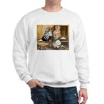 Domestic Flight Pigeons Sweatshirt