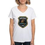 Glendale Police Bike Squad Women's V-Neck T-Shirt