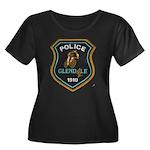 Glendale Police Bike Squad Women's Plus Size Scoop