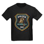 Glendale Police Bike Squad Kids Dark T-Shirt