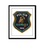 Glendale Police Bike Squad Framed Panel Print
