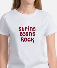 String Beans Rock Tee