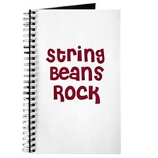 String Beans Rock Journal