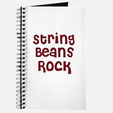 String Beans Rock Journal