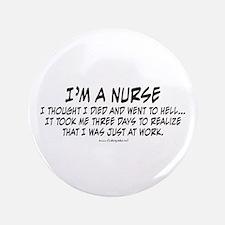 "Nurse Hell 3.5"" Button"