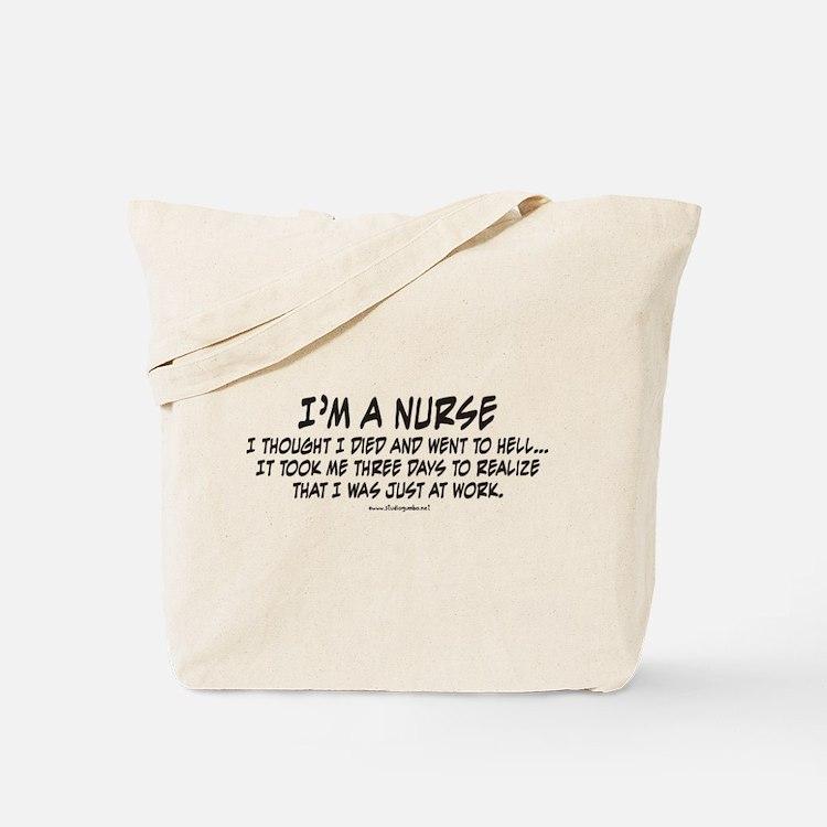 Nurse Hell Tote Bag