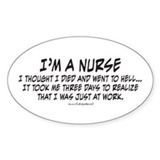 Nurse Hell Decal