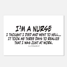 Nurse Hell Postcards (Package of 8)