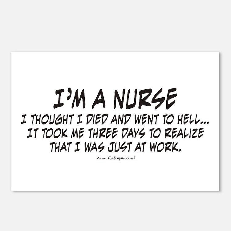 Nurse Hell Postcards (Package of 8)