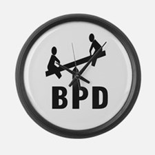 Cool Borderline personality disorder Large Wall Clock