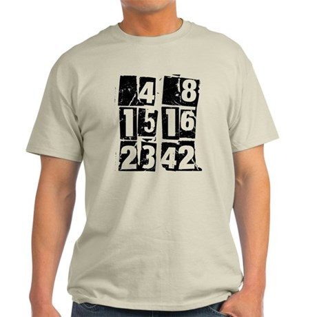 Lost Numbers [grunge] Light T-Shirt
