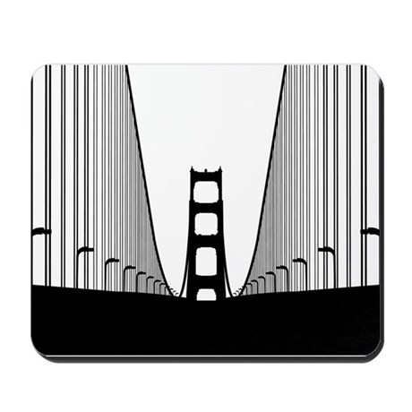 Bay Bridge Mousepad