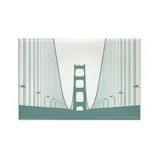 Bay Bridge Rectangle Magnet