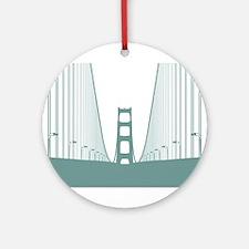 Bay Bridge Ornament (Round)