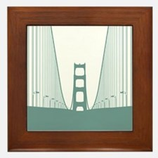 Bay Bridge Framed Tile