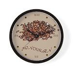 Honduran Coffee Wall Clock