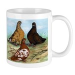 Shortfaced Tumbler Pigeons Mug