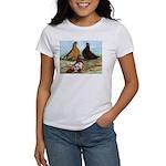Shortfaced Tumbler Pigeons Women's T-Shirt