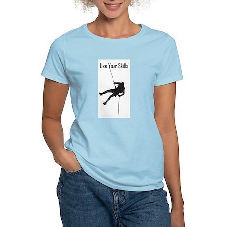 skills_climber_water_bottle T-Shirt