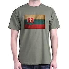Vintage Slovakia Flag T-Shirt