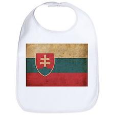 Vintage Slovakia Flag Bib