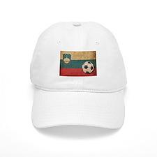 Vintage Slovenia Football Baseball Cap