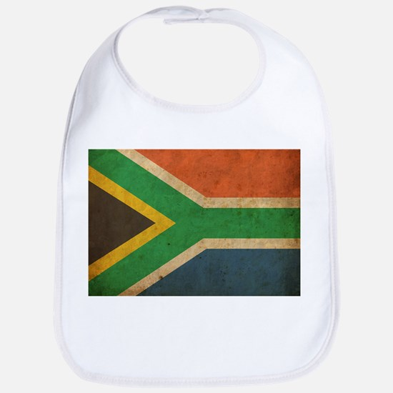 Vintage South Africa Flag Bib