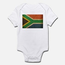 Vintage South Africa Flag Infant Bodysuit