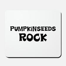 Pumpkinseeds Rock Mousepad