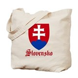 Slovak Regular Canvas Tote Bag