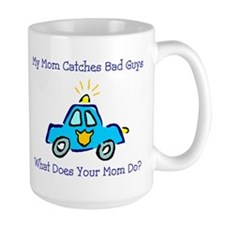 Mom Catches Bad Guys Mug