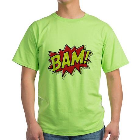 Bam! Green T-Shirt