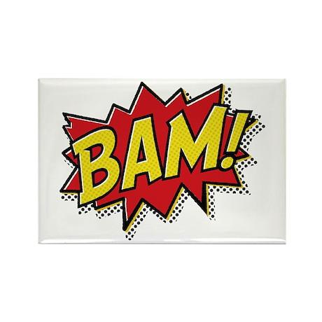 Bam! Rectangle Magnet (10 pack)