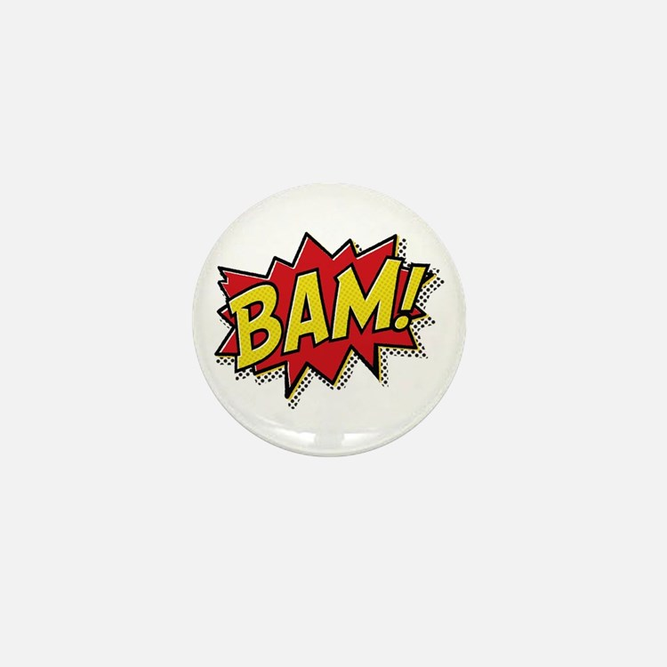 Bam! Mini Button