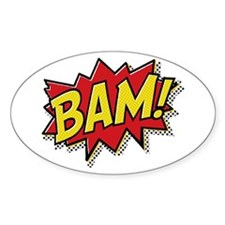 Bam! Decal
