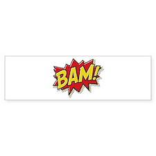Bam! Bumper Sticker