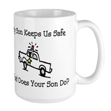 My Son Keeps Us Safe Mug